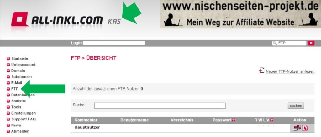 Favicon erstellen und in Website einbinden. FTP Verzeichnis im all-inkl.com KAS öffnen. Nischenseiten Projekt. Mein Weg zur Affiliate Website.