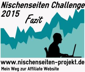 Nischenseiten Challenge 2015 Fazit, Nischenseiten Projekt, Mein Weg zur Affiliate Website